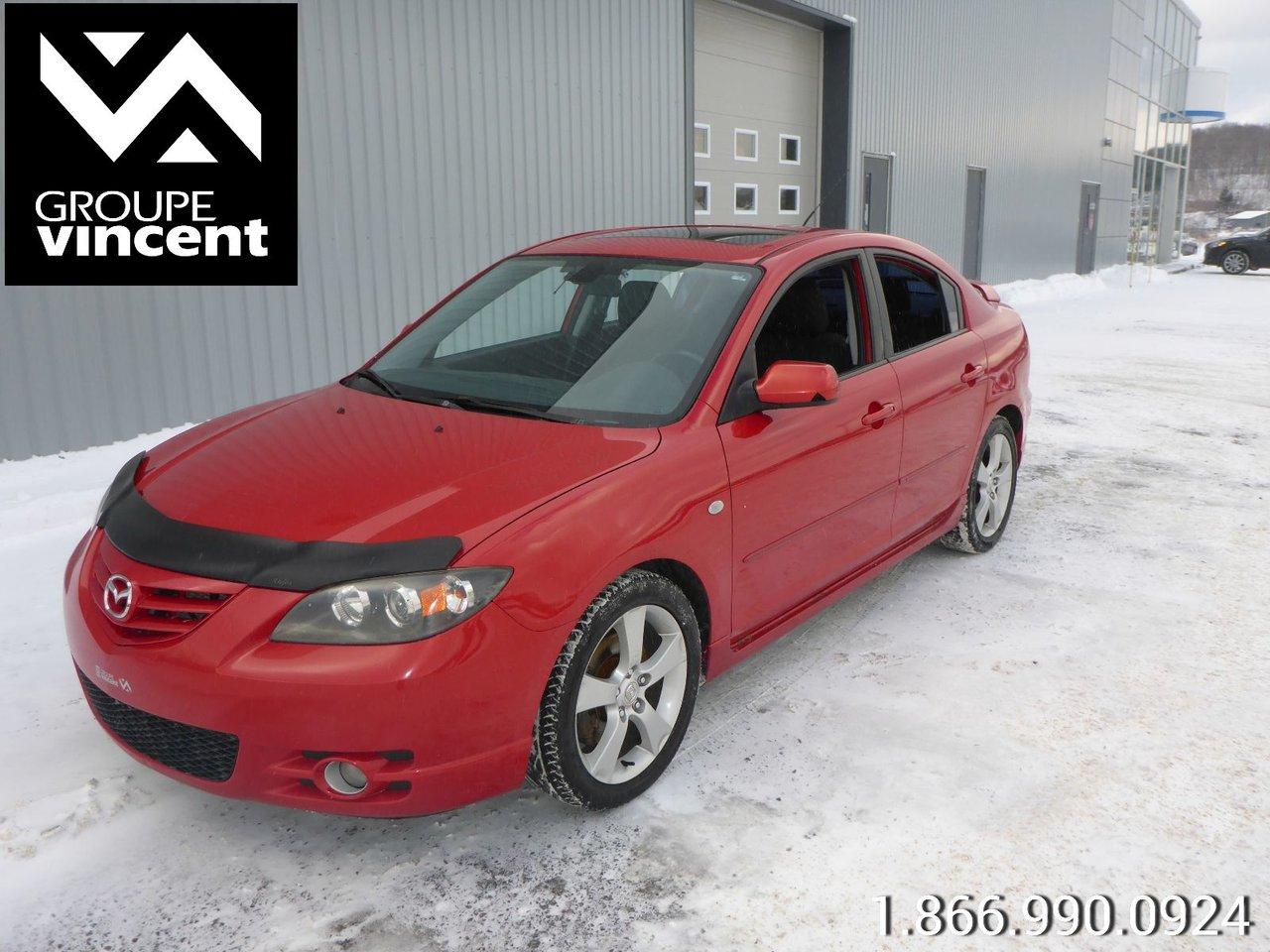 Mazda 3 2005 GT TOIT MP3 mazda3 2005 manuel 2.3 gt