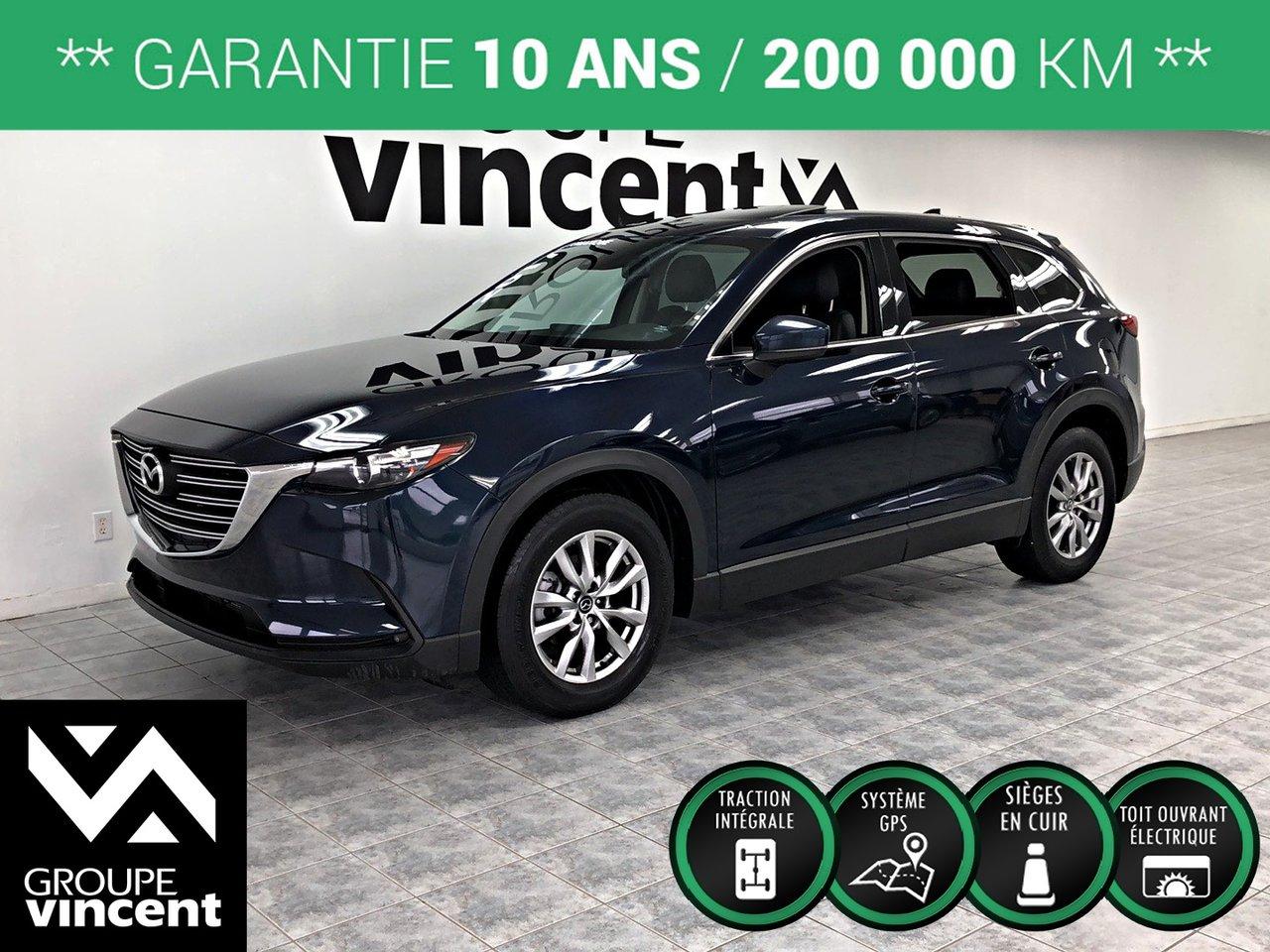 2017 Mazda  CX-9 GS-L GPS-CUIR-TOIT AWD ** GARANTIE 10 ANS **