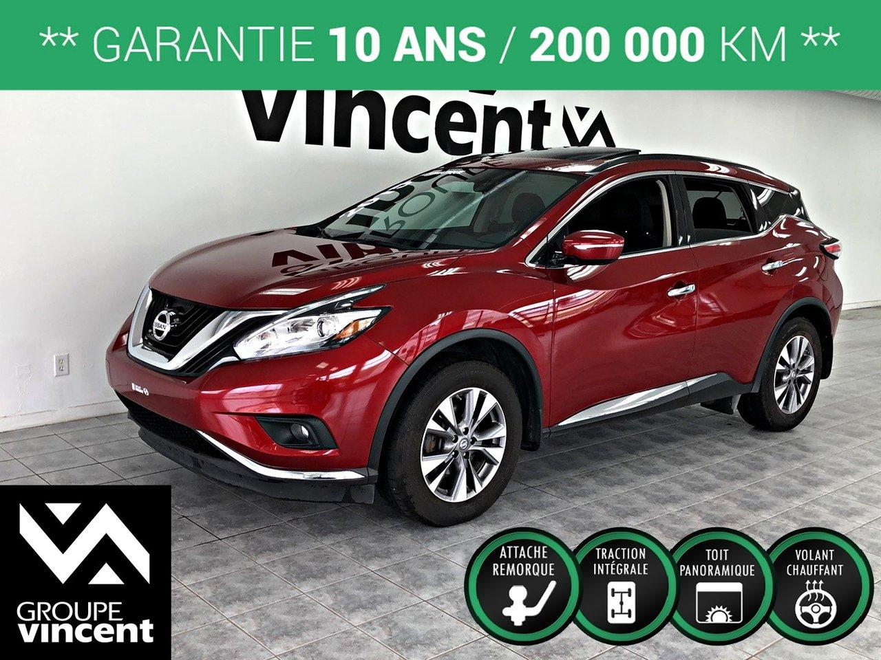 2015 Nissan  Murano SV AWD **GARANTIE 10 ANS**