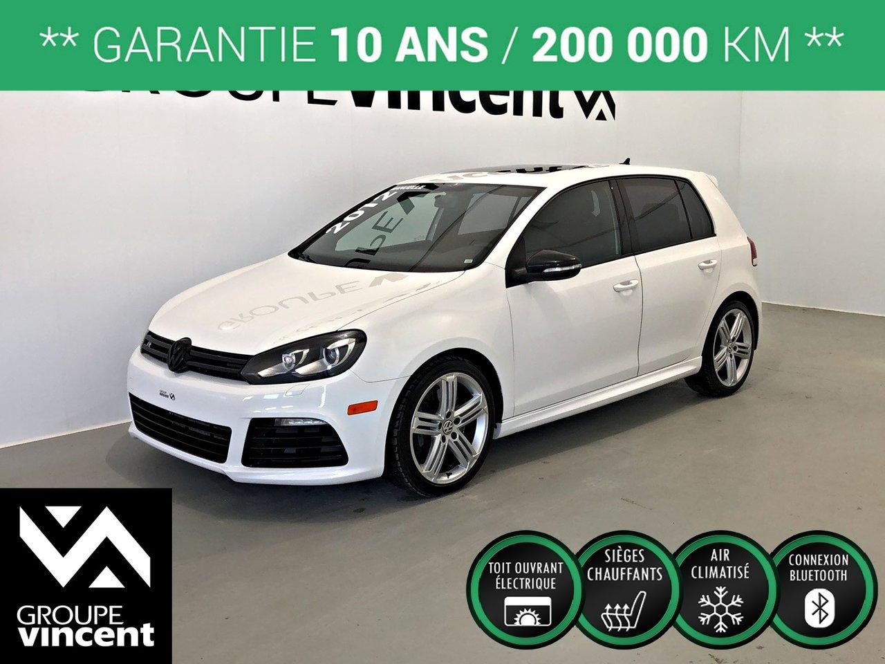 2012 Volkswagen  Golf R **GARANTIE 10 ANS**