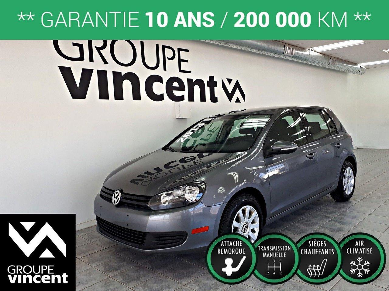 2013 Volkswagen  Golf 2.5L ** GARANTIE 10 ANS **