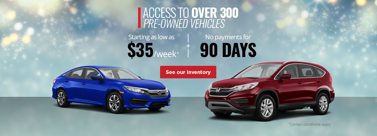 Over 3000 Pre-Owned Vehicles