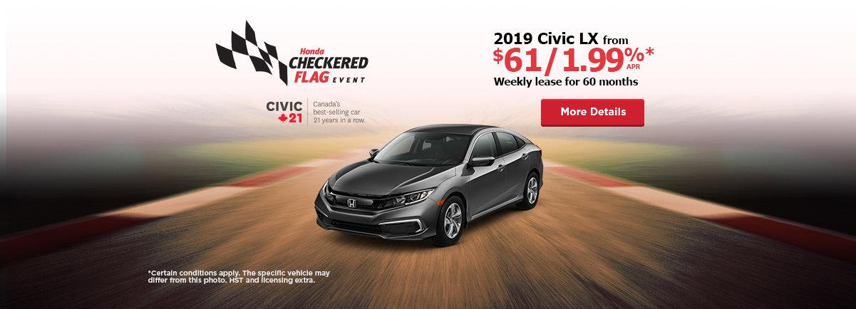 2019 Honda Civic - Header - Desktop