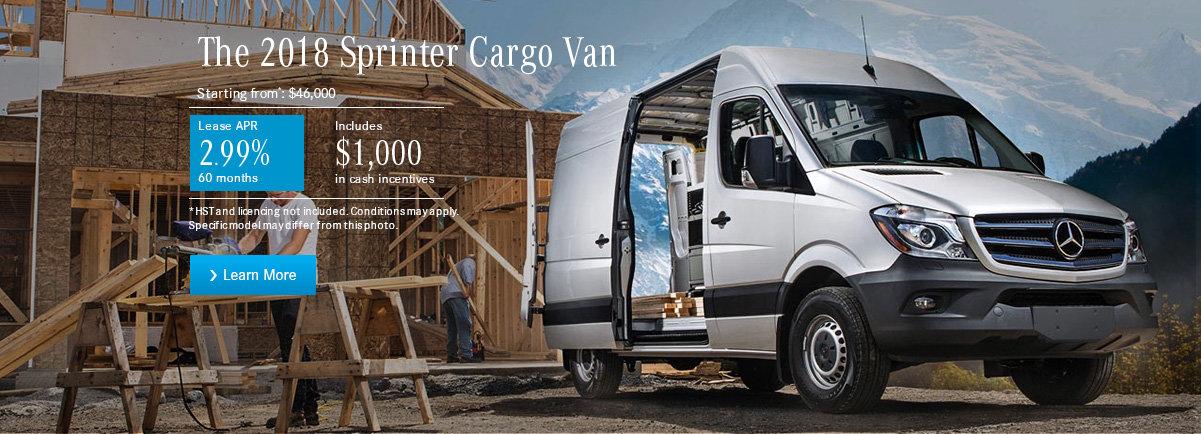 The 2018 Sprinter Cargo Van-desktop