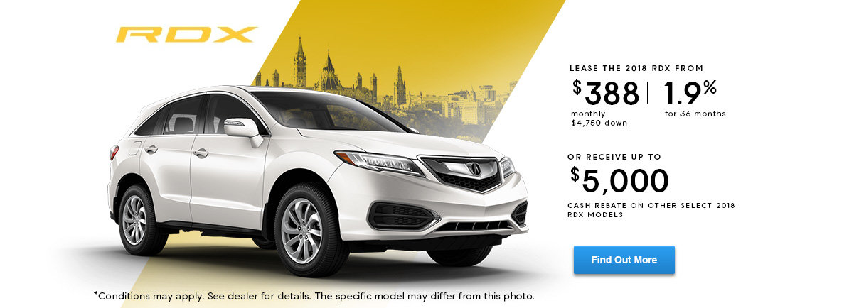 Lease the RDX