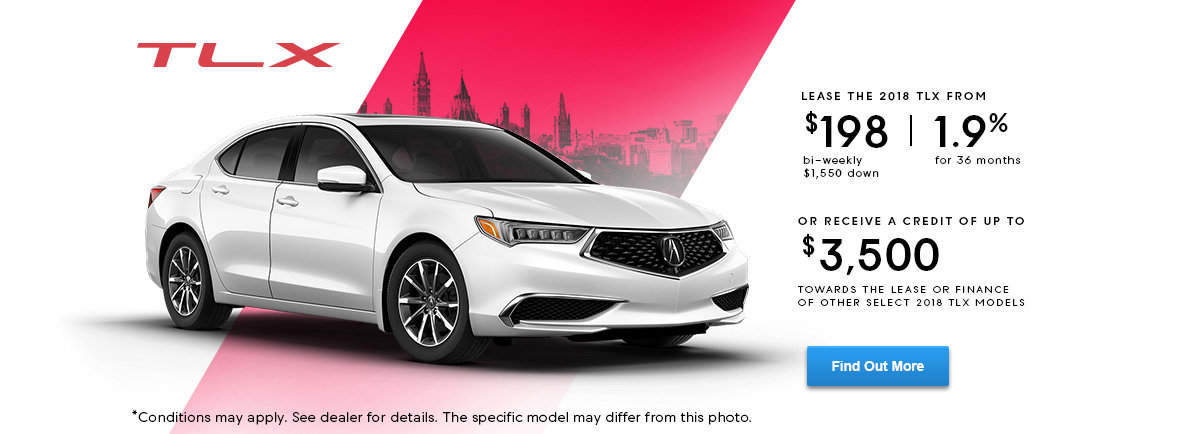 Lease the TLX