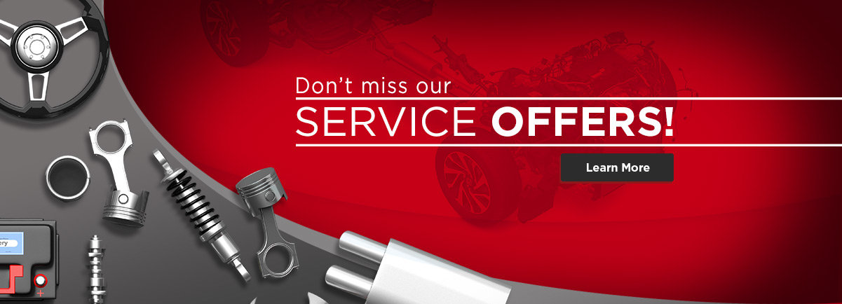 Don't miss our our Service Offers