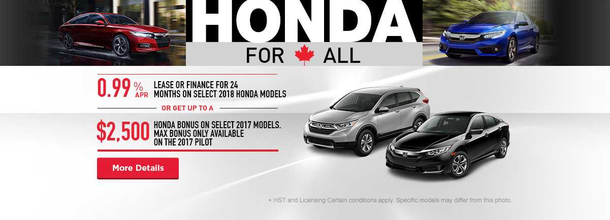 Honda For All - Brockville