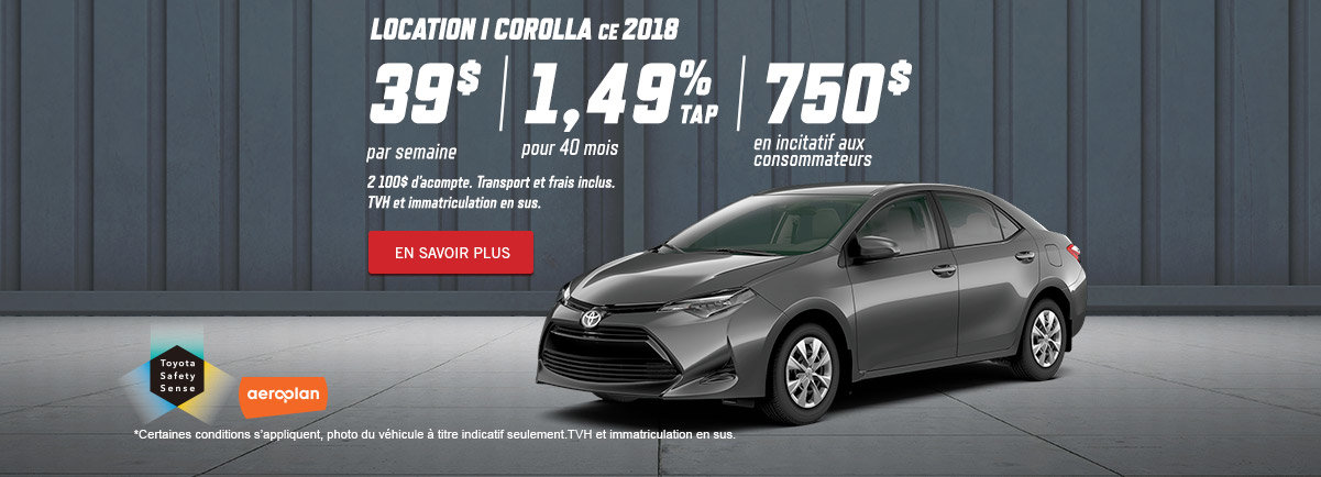 Corolla 2018 - Kingston