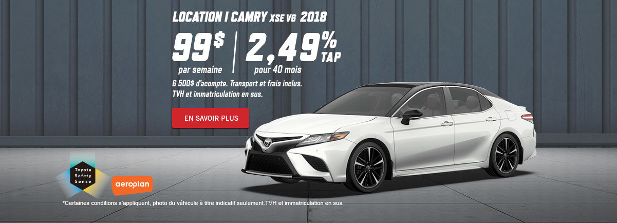 Camry 2018 - Kingston