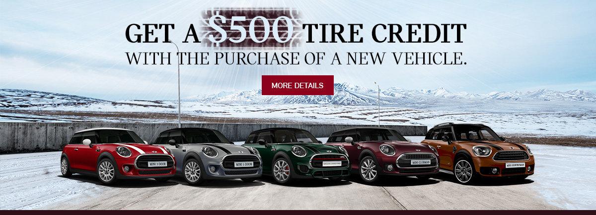 $500 tire credit