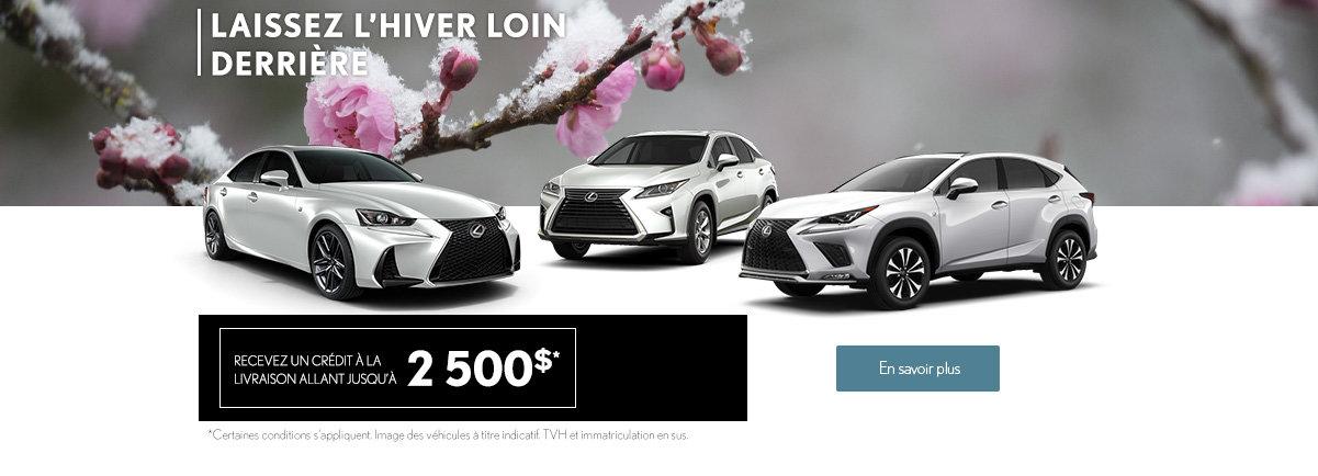 L'événement Lexus