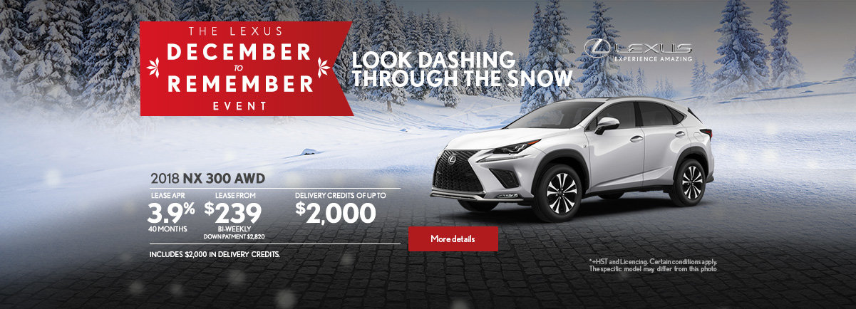 The Lexus December to Remember Event - NX