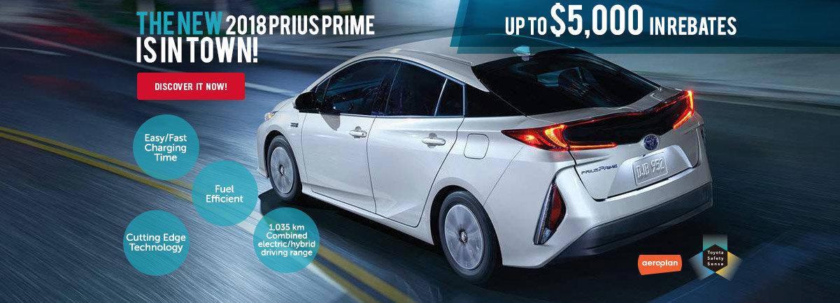 New Prius Prime 2018