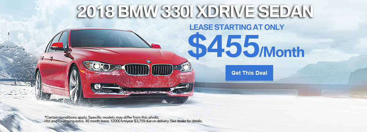 Get the 2018 BMW 330i xDrive Sedan