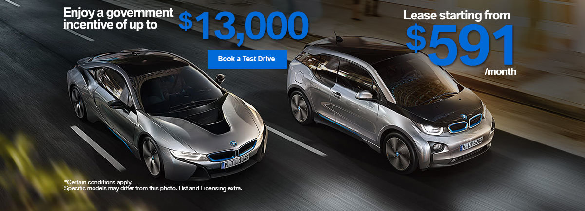 BMW i8 - Governement incentive