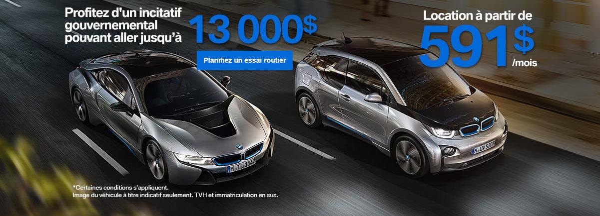 BMW i8 - Incitatif gouvernemental