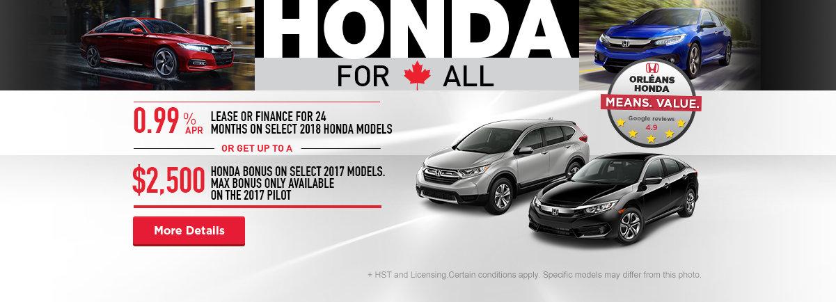 Honda For All - Orleans
