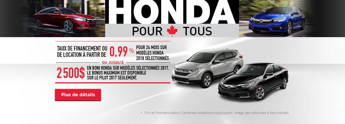 Honda pour tous - Civic Motors