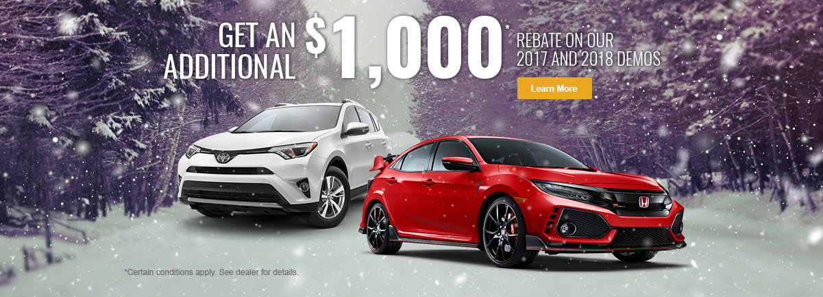 Save an Extra $1,000 on Our Demos!