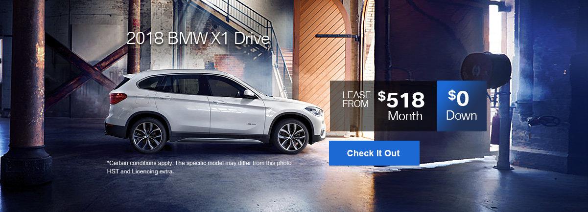 BMW x1 xdrive 2018