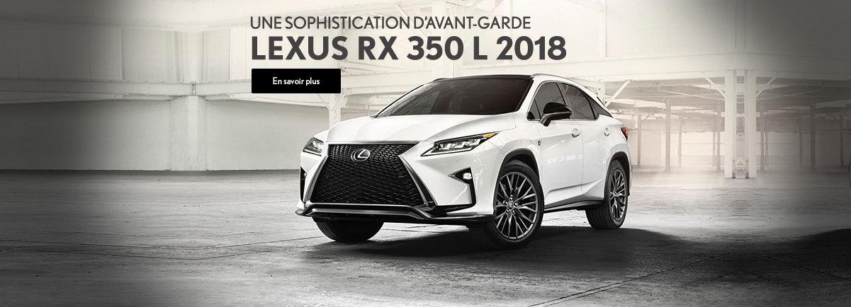 LEXUS RX 350 L 2018