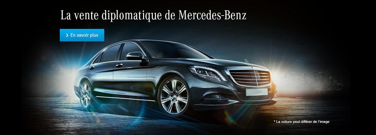 La vente diplomatique de Mercedes-Benz