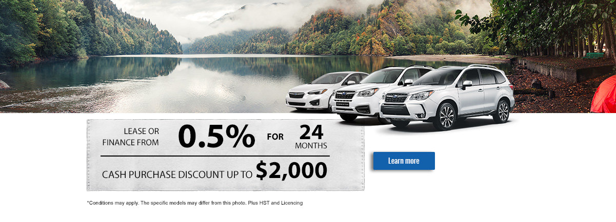 SUBARU'S MONTHLY SALES EVENT - May -