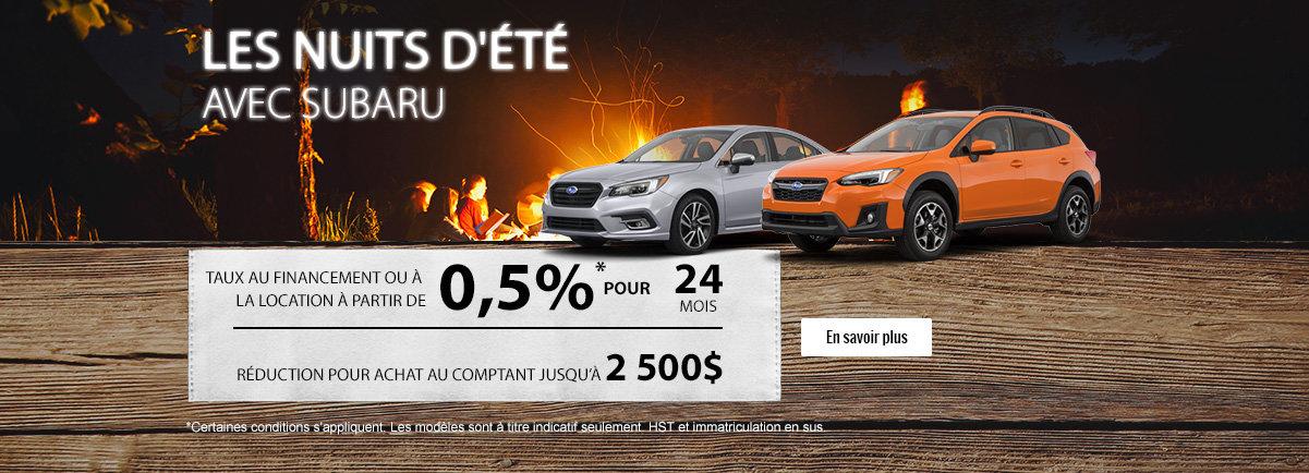 L'Événement mensuel de Subaru