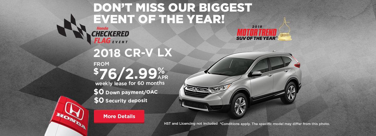 CRV header - (desktop) - Civic Motors