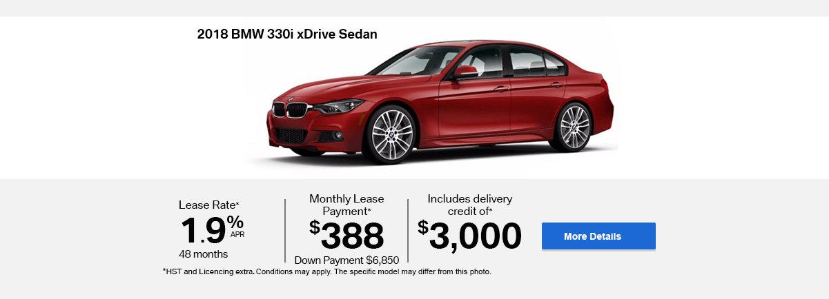 2018 BMW serie 3 -  Header - Desktop