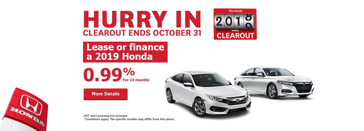 Honda Event - Desktop