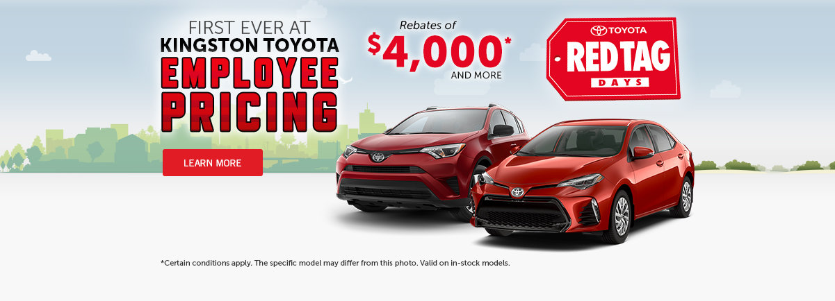 Kingston Toyota Employee Pricing