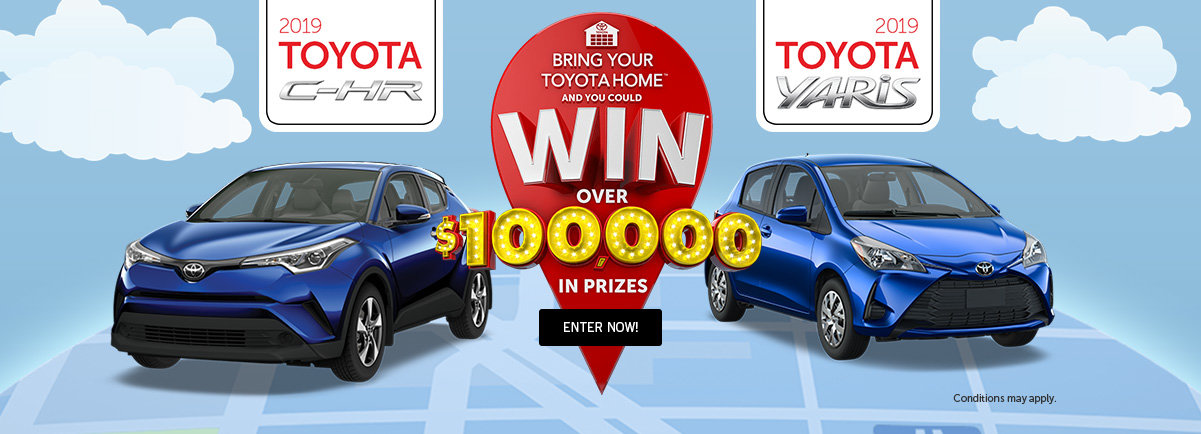 Bring home a Toyota