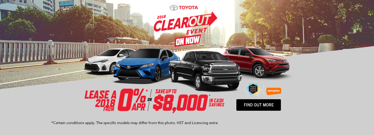 TOYOTA 2018 CLEAROUT - Kingston WEB