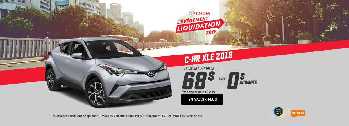 Toyota CH-R 2018 - Kingston