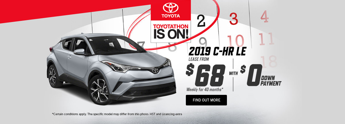 2019 Toyota CH-R - Kingston