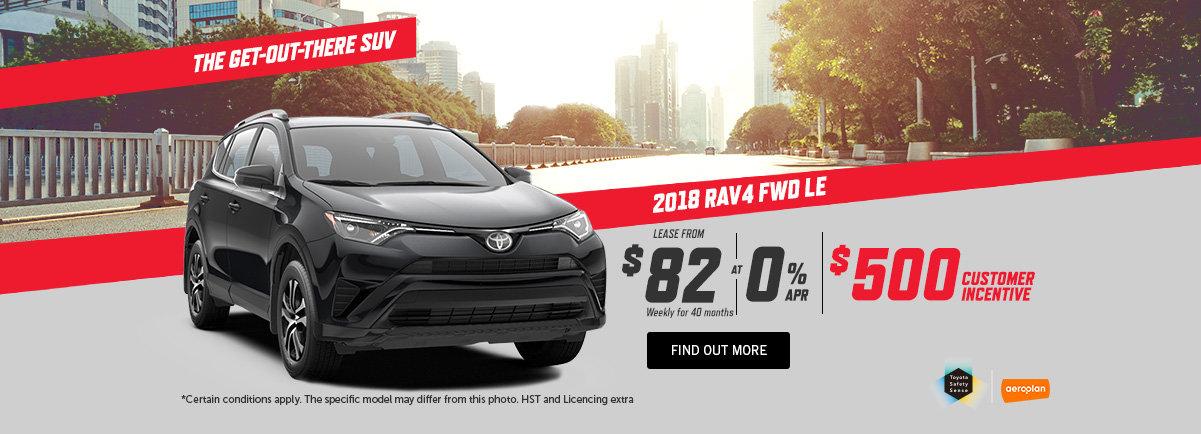 2018 Toyota RAV4 - kingston