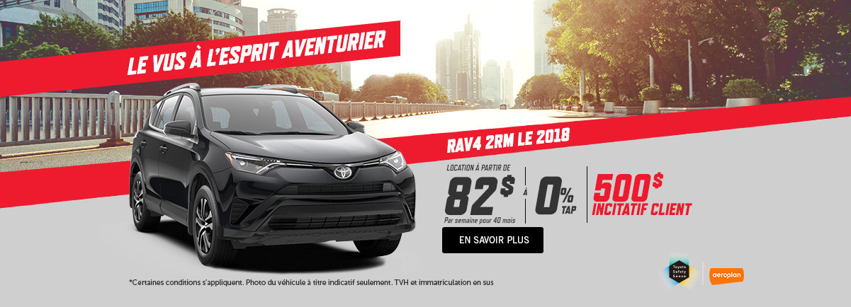 Toyota RAV4 2018 - kingston