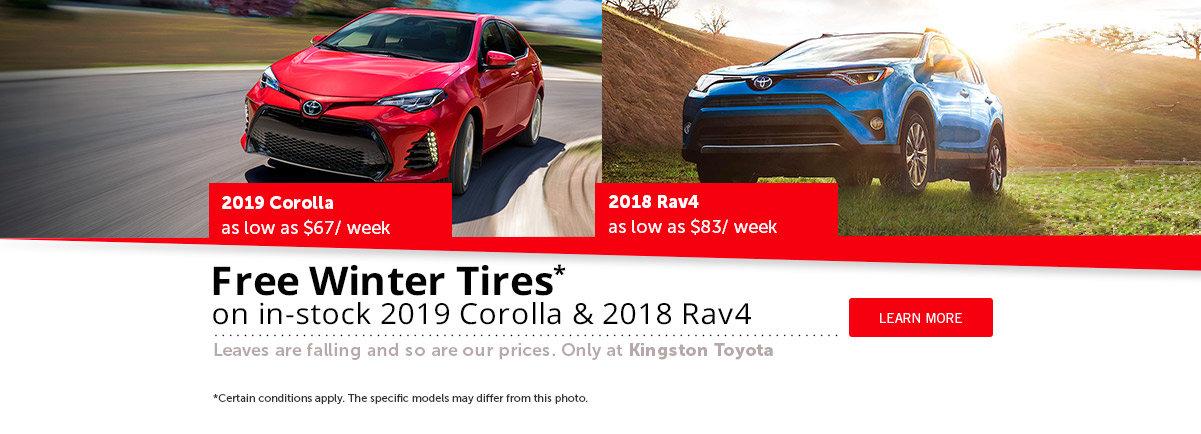 Free Winter Tires* - Rav4 + Corolla 2019