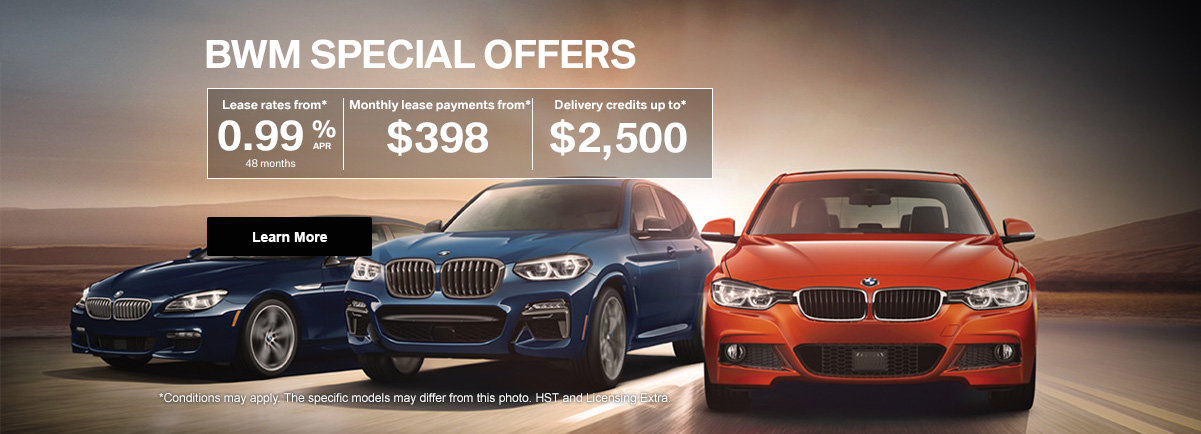 BMW Event - Special offers