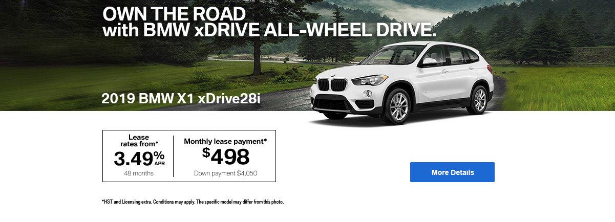 BMW X1 - header -desktop