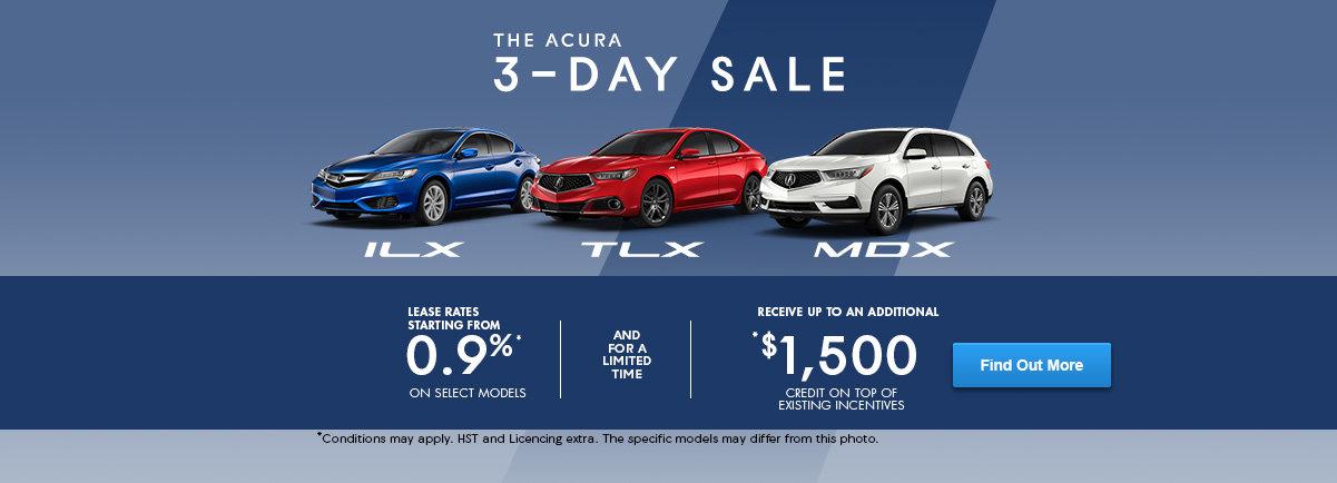 Acura Event 3 DAYS - Header web