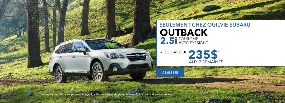 Outback 2.5i Tourisme avec Eyesight