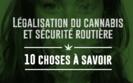 Légalisation du cannabis et sécurité routière : 10 choses à savoir
