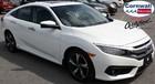 2017 Honda Civic Sedan Touring  -  Leather, Heated Front & Rear Seats