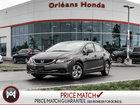 2013 Honda Civic Sdn LX SEDAN AUTOMATIC- WARRANTY TO 160,000K HONDA CERTIFIED USED! CLEAN CARPROOF