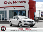 2014 Honda Civic Sedan LX- 5 YR/ 120,000 KMS HONDA WARRANTY, BLUETOOTH
