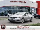 2015 Honda Civic Sedan LX- AUTO, BLUETOOTH,BACKUP CAMERA ONE OWNER LOCAL TRADE LOW MILEAGE