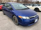 2007 Honda Civic VERY CLEAN LOW KM EASY TO MAINTAIN NICE BLUE WINTERS